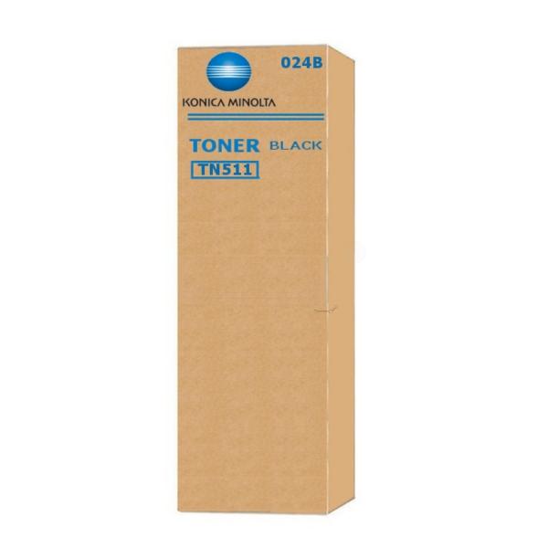 Original Konica Minolta 024B / TN511 Toner schwarz