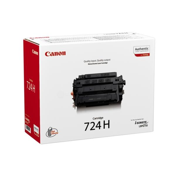 Original Canon 3482B002 / 724H Toner schwarz