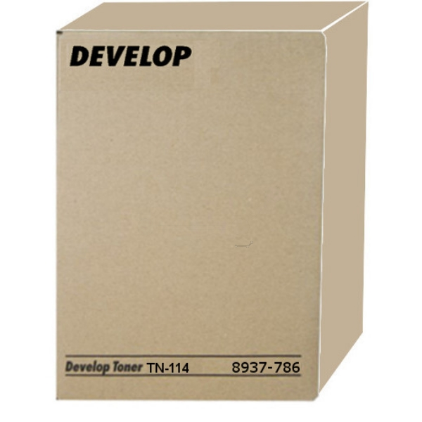 Original Develop 8937786000 / TN114 Toner schwarz