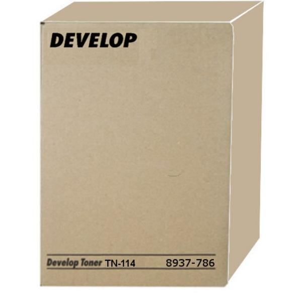 Originale Develop 8937786000 / TN114 Toner nero