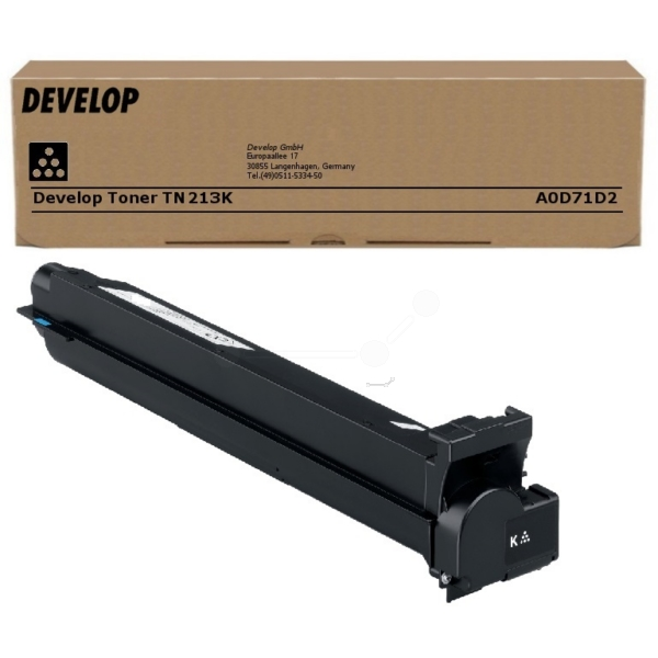 Original Develop A0D71D2 / TN213K Toner schwarz