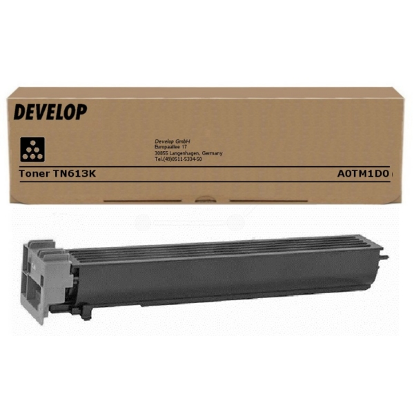 Original Develop A0TM1D0 / TN613K Toner schwarz