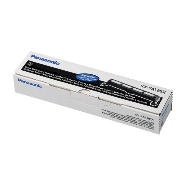 Original Panasonic KXFAT88X Toner schwarz