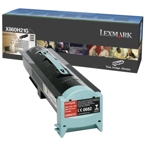 Original Lexmark X860H21G Tóner negro