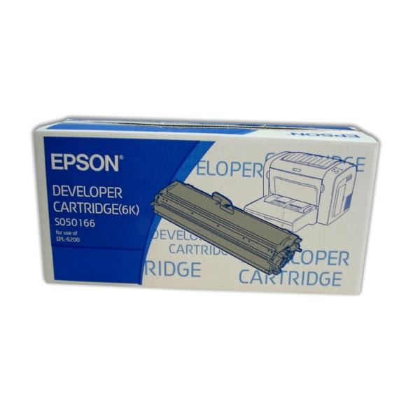 Original Epson C13S050166 / S050166 Tóner negro