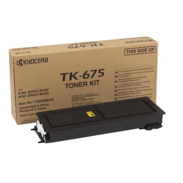 Original Kyocera 1T02H00EU0 / TK675 Toner schwarz