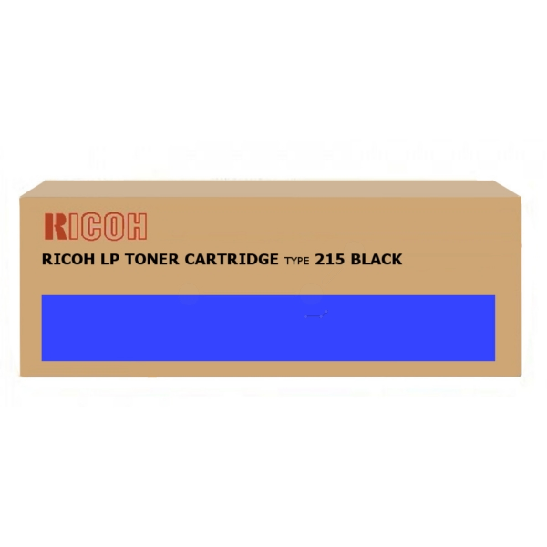 Original Ricoh 400760 / TYPE215 Toner schwarz