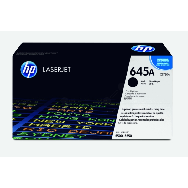 Original HP C9730A / 645A Toner black