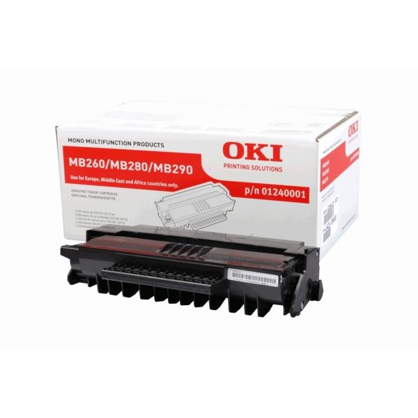 Original OKI 01240001 Toner schwarz