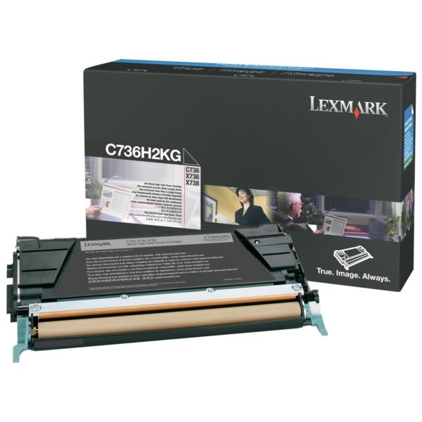 Original Lexmark C736H2KG Toner schwarz