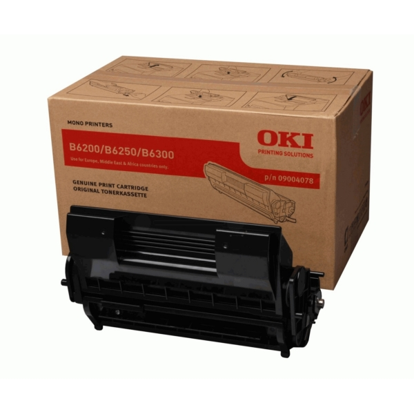 Original OKI 09004078 Toner schwarz