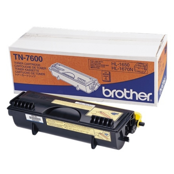 Original Brother TN7600 Toner schwarz