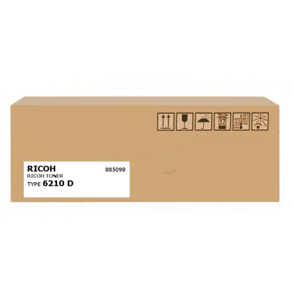 Original Ricoh 885098 / TYPE6210D Toner schwarz