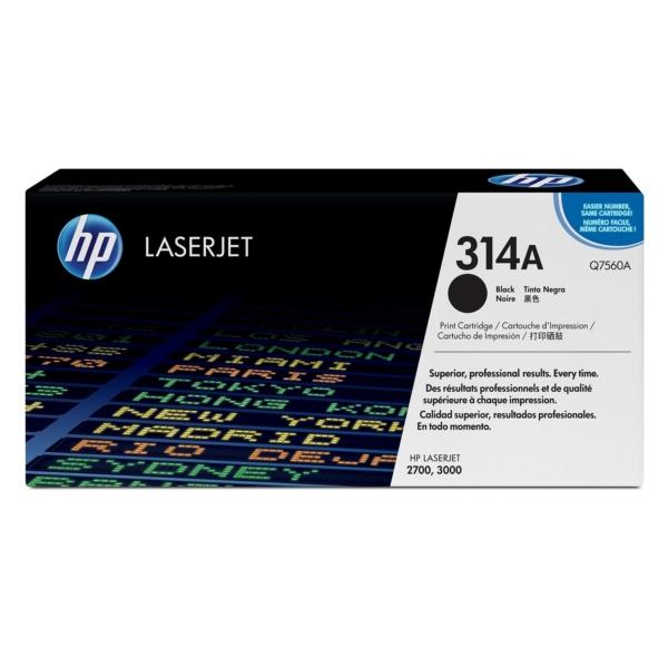 Original HP Q7560A / 314A Toner schwarz