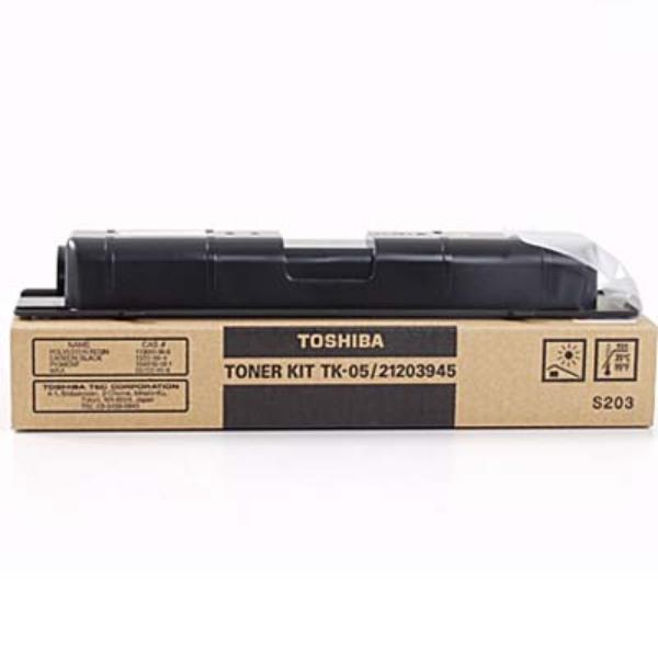 Original Toshiba 21203945 / TK05 Toner schwarz