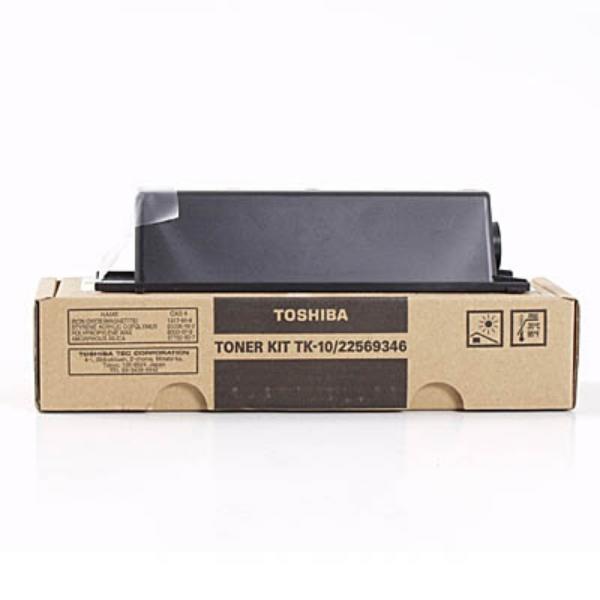 Original Toshiba 22569346 / TK10 Toner schwarz