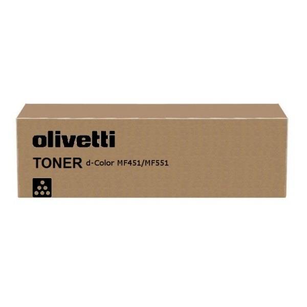Original Olivetti B0818 Toner schwarz