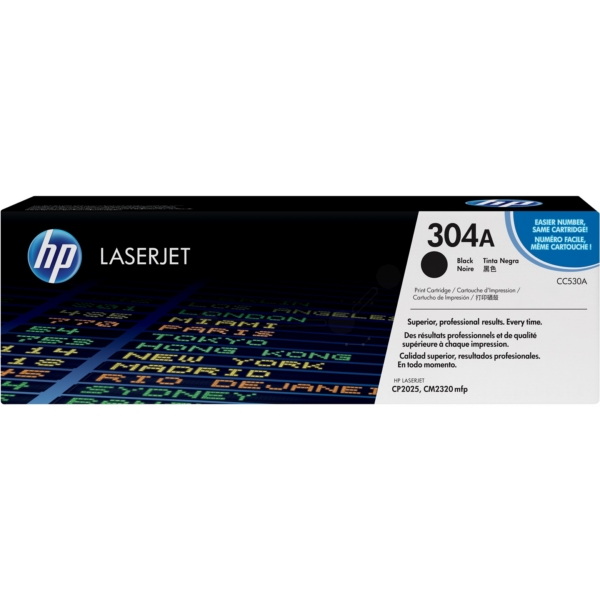 Original HP CC530A / 304A Toner black