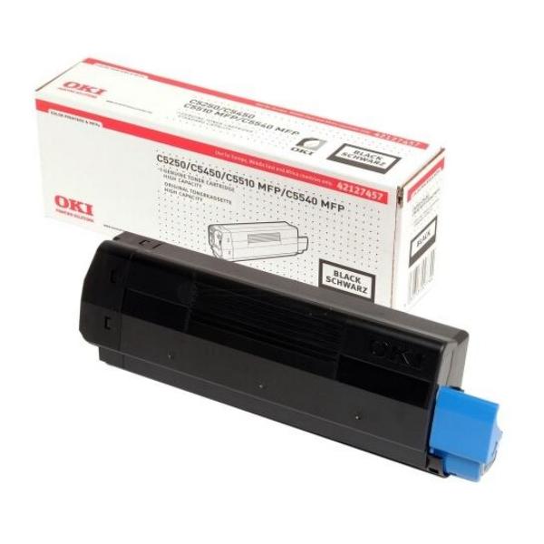 Original OKI 42127457 Toner schwarz