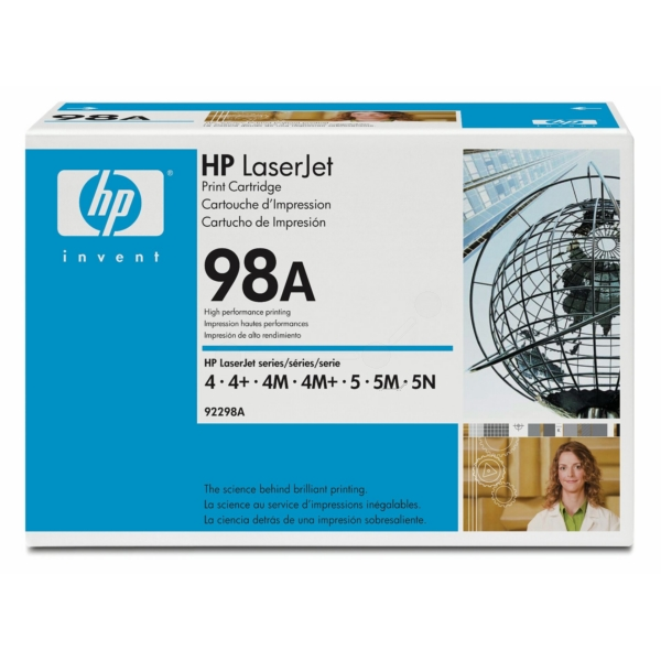 Original HP 92298A / 98A Toner black
