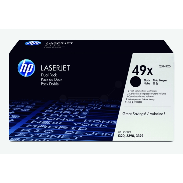 Original HP Q5949XD / 49XD Toner black