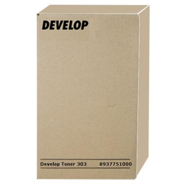 Original Develop 8937751000 / TYPE303 Toner schwarz
