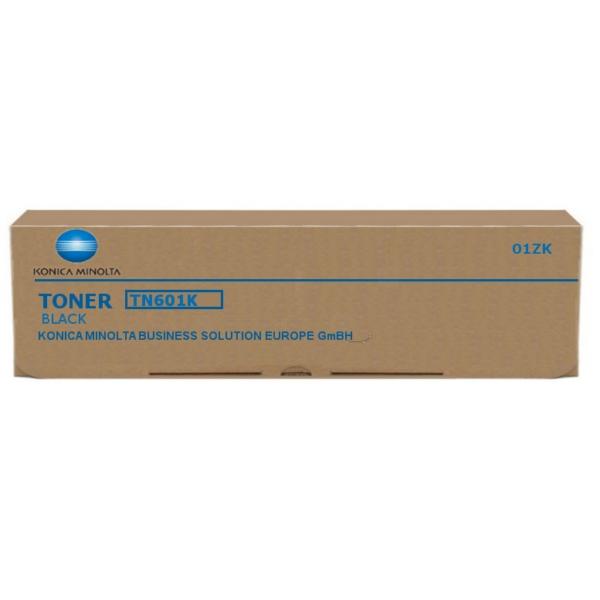 Original Konica Minolta 01ZK / TN601K Toner schwarz