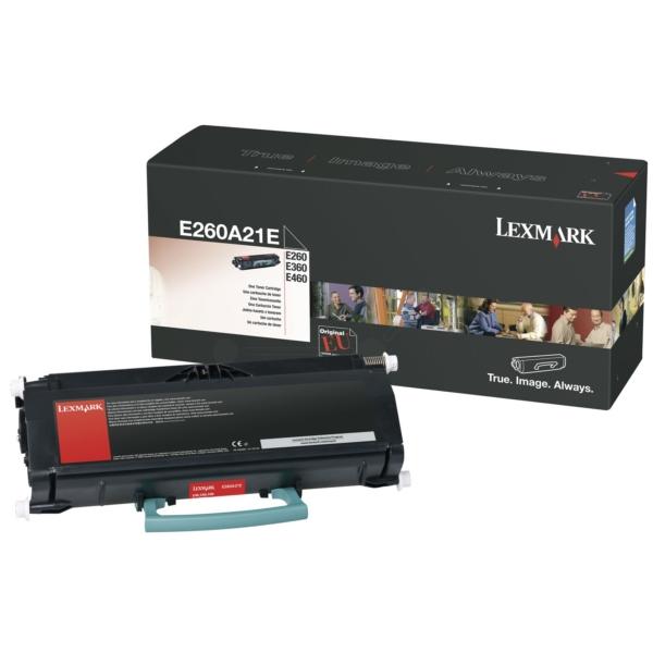Origineel Lexmark E260A21E Toner zwart