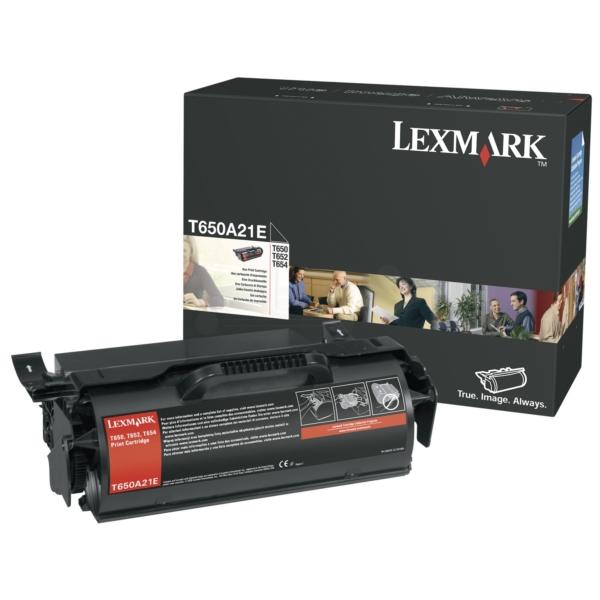 Original Lexmark T650A21E Toner schwarz