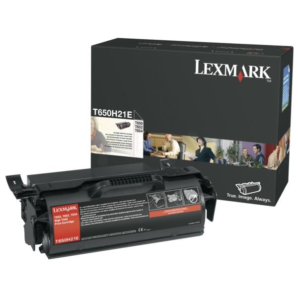 Original Lexmark T650H21E Toner schwarz