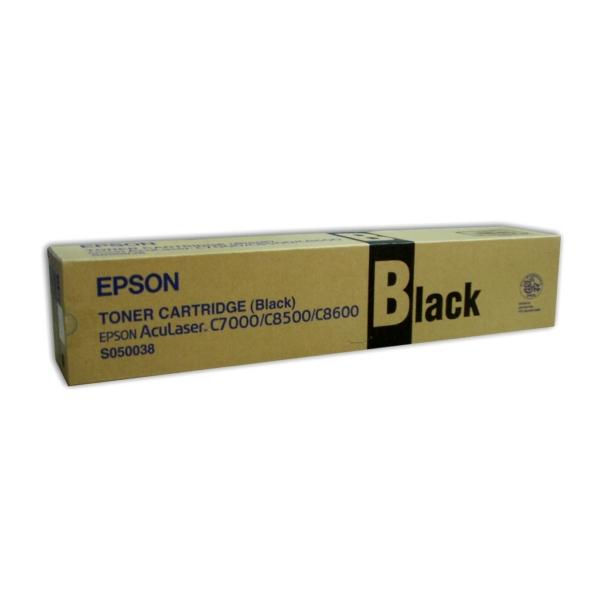 Original Epson C13S050038 / S050038 Toner schwarz