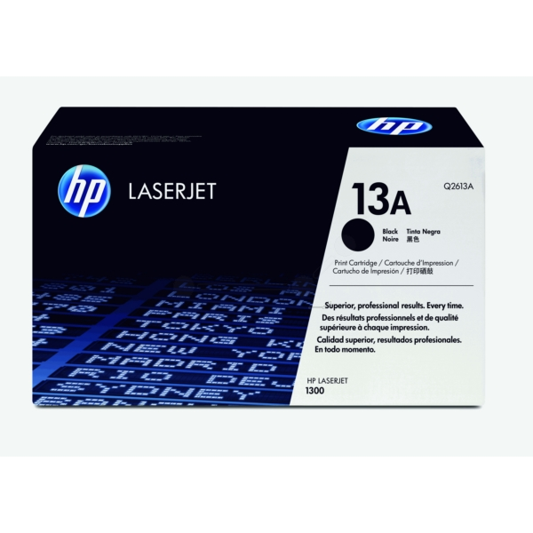 Original HP Q2613A / 13A Toner black