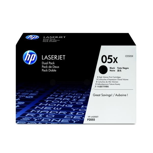 Original HP CE505XD / 05XD Toner schwarz