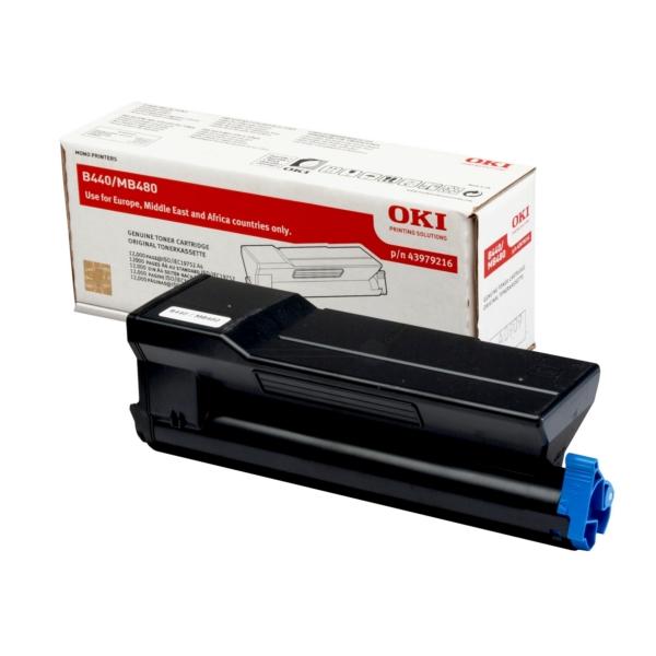 Original OKI 43979216 Toner schwarz