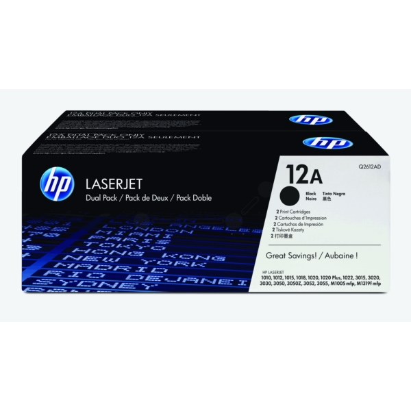 Original HP Q2612AD / 12AD Toner black
