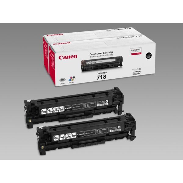 Original Canon 2662B005 / 718BKVP Toner schwarz