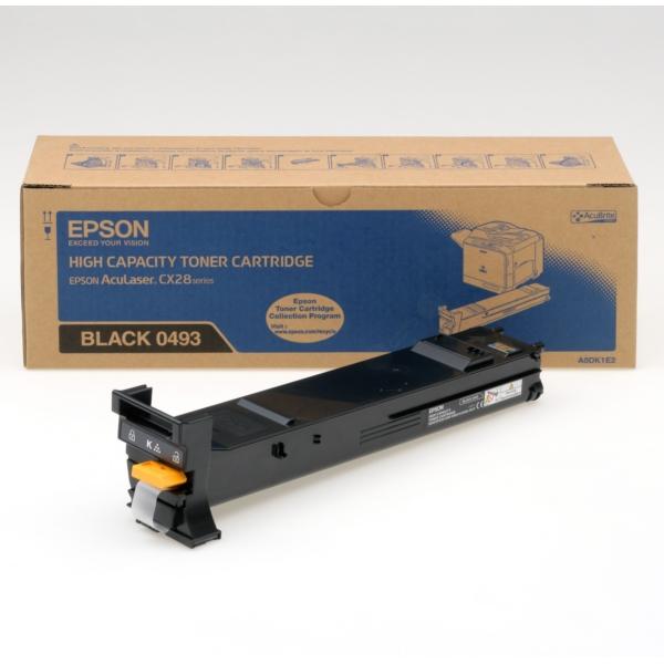 Original Epson C13S050493 / 0493 Toner schwarz