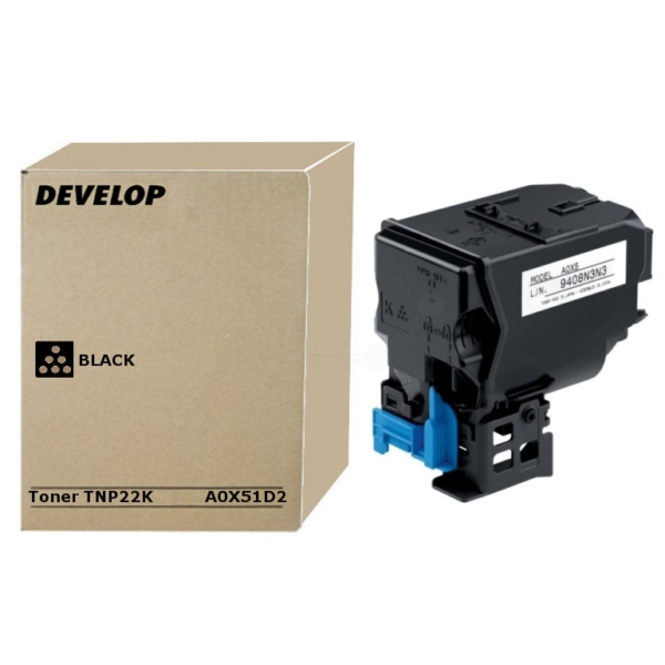Original Develop A0X51D2 / TNP22K Toner schwarz