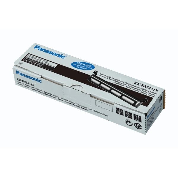 Original Panasonic KXFAT411X Toner schwarz