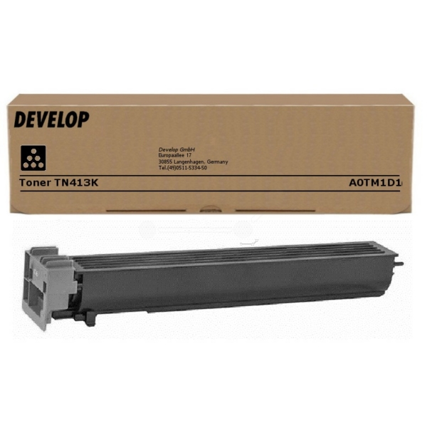 Original Develop A0TM1D1 / TN413K Toner schwarz