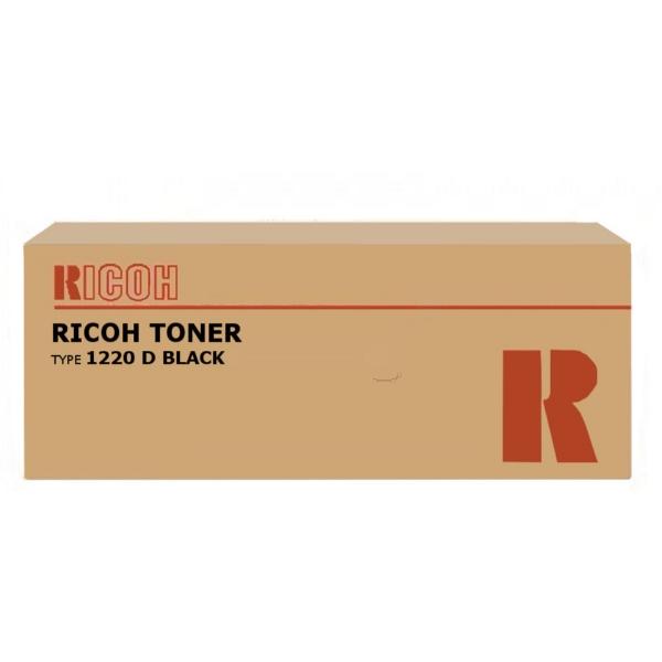 Original Ricoh 888087 / TYPE1220D Toner schwarz