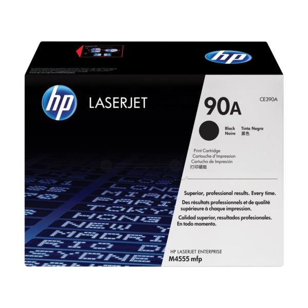 Original HP CE390A / 90A Toner black