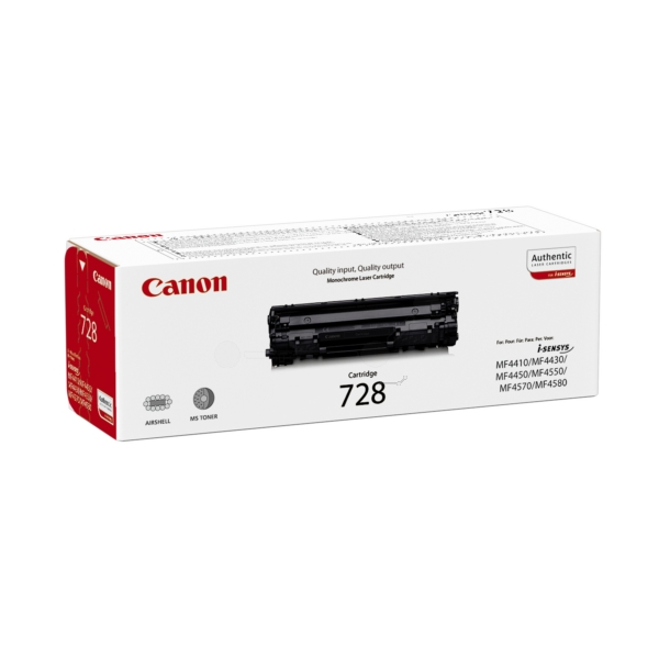 Original Canon 3500B002 / 728 Toner black