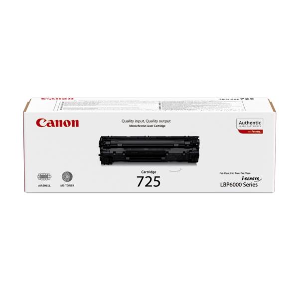 Oryginalny Canon 3484B002 / 725 Toner czarny