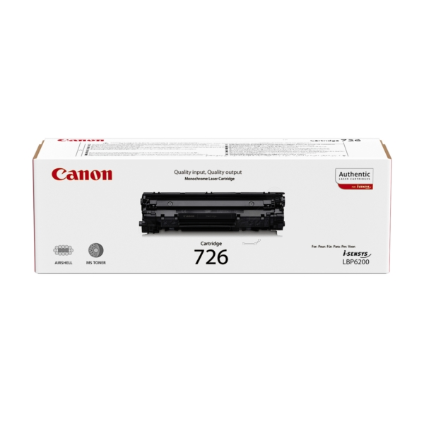 Original Canon 3483B002 / 726 Toner noir