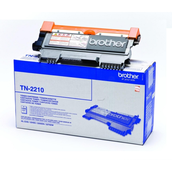 Original Brother TN2210 Toner schwarz