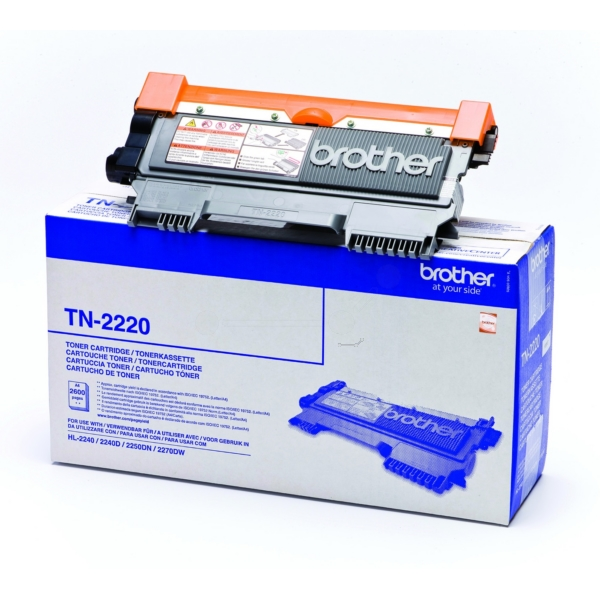 Original Brother TN2220 Toner black