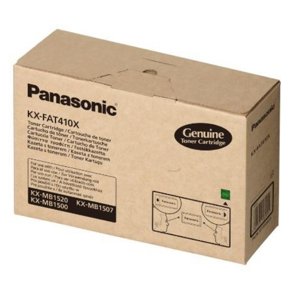 Original Panasonic KXFAT410X Toner schwarz
