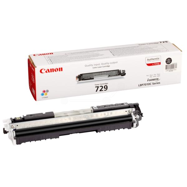 Original Canon 4370B002 / 729BK Toner schwarz