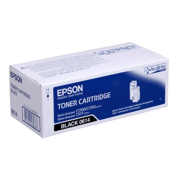 Original Epson C13S050614 / 0614 Toner black